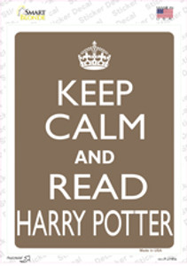 Keep Calm And Read Harry Potter Wholesale Novelty Rectangle Sticker Decal