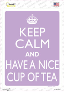 Have A Nice Cup Of Tea Wholesale Novelty Rectangle Sticker Decal