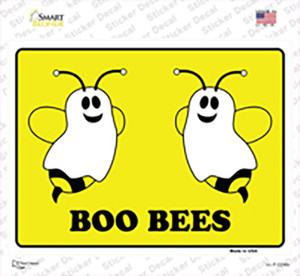 Boo Bees Wholesale Novelty Rectangle Sticker Decal