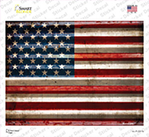American Flag Wholesale Novelty Rectangle Sticker Decal