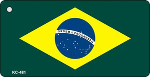 Brazil Flag Wholesale Novelty Key Chain