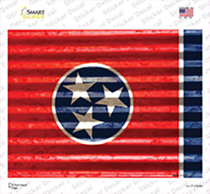 Tennessee Flag Wholesale Novelty Rectangle Sticker Decal