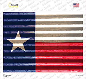 Texas Flag Wholesale Novelty Rectangle Sticker Decal