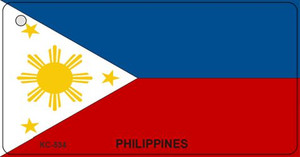 Philippines Flag Wholesale Novelty Key Chain