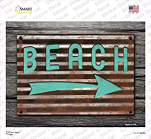 Beach That Way Wholesale Novelty Rectangle Sticker Decal