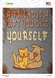 A Gift You Give Yourself Wholesale Novelty Rectangle Sticker Decal