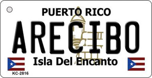 Arecibo Puerto Rico Flag Wholesale Novelty Key Chain