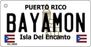 Bayamon Puerto Rico Flag Wholesale Novelty Key Chain