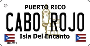 Cabo Rojo Puerto Rico Flag Wholesale Novelty Key Chain