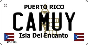 Camuy Puerto Rico Flag Wholesale Novelty Key Chain