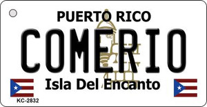 Comerio Puerto Rico Flag Wholesale Novelty Key Chain