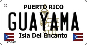 Guayama Puerto Rico Flag Wholesale Novelty Key Chain