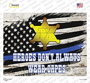 Texas Sheriff Wholesale Novelty Rectangle Sticker Decal