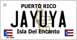 Jayuya Puerto Rico Flag Wholesale Novelty Key Chain