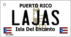Lajas Puerto Rico Flag Wholesale Novelty Key Chain