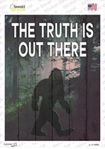 The Truth Is Out There Wholesale Novelty Rectangle Sticker Decal