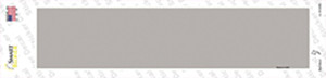 Gray Solid Blank Wholesale Novelty Narrow Sticker Decal