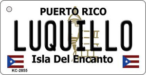 Luquillo Puerto Rico Flag Wholesale Novelty Key Chain