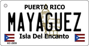 Mayaguez Puerto Rico Flag Wholesale Novelty Key Chain
