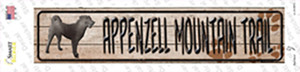 Appenzell Mountain Dog Trail Wholesale Novelty Narrow Sticker Decal
