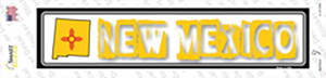 New Mexico Outline Wholesale Novelty Narrow Sticker Decal