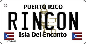 Rincon Puerto Rico Flag Wholesale Novelty Key Chain