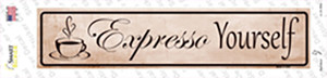 Expresso Yourself Wholesale Novelty Narrow Sticker Decal