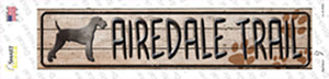 Airedale Trail Wholesale Novelty Narrow Sticker Decal
