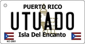Utuado Puerto Rico Flag Wholesale Novelty Key Chain