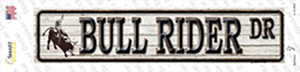 Bull Rider Dr Wholesale Novelty Narrow Sticker Decal