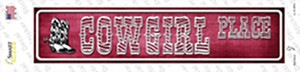 Cowgirl Place Wholesale Novelty Narrow Sticker Decal