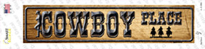 Cowboy Place Wholesale Novelty Narrow Sticker Decal