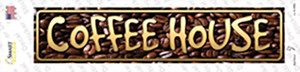 Coffee House Wholesale Novelty Narrow Sticker Decal