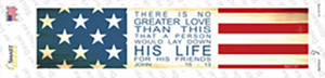 His Life Wholesale Novelty Narrow Sticker Decal