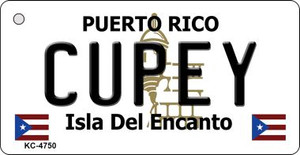 Cupey Puerto Rico Flag Wholesale Novelty Key Chain