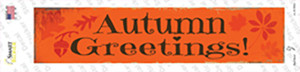 Autumn Greetings Wholesale Novelty Narrow Sticker Decal
