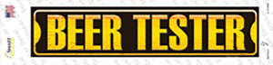 Beer Tester Wholesale Novelty Narrow Sticker Decal