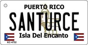 Santurce Puerto Rico Flag Wholesale Novelty Key Chain