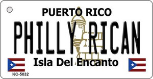 Philly Rican Puerto Rico Flag Wholesale Novelty Key Chain