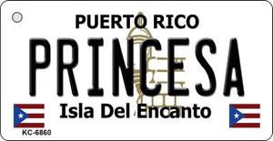 Princesa Puerto Rico Flag Wholesale Novelty Key Chain