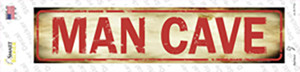 Man Cave Wholesale Novelty Narrow Sticker Decal