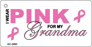 Pink For Grandma Wholesale Novelty Key Chain