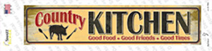 Country Kitchen Wholesale Novelty Narrow Sticker Decal