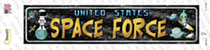 US Space Force Wholesale Novelty Narrow Sticker Decal