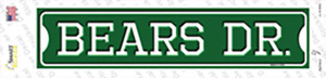 Bears Dr Wholesale Novelty Narrow Sticker Decal