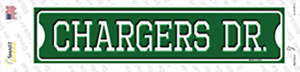 Chargers Dr Wholesale Novelty Narrow Sticker Decal