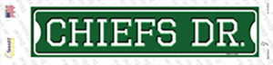 Chiefs Dr Wholesale Novelty Narrow Sticker Decal