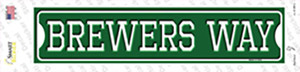 Brewers Way Wholesale Novelty Narrow Sticker Decal