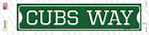 Cubs Way Wholesale Novelty Narrow Sticker Decal