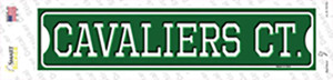 Cavaliers Ct Wholesale Novelty Narrow Sticker Decal